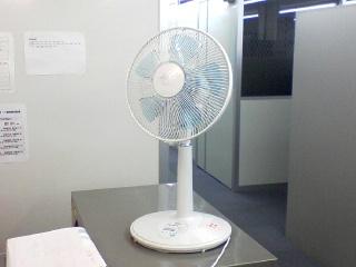 冬でも扇風機が大活躍